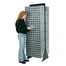 Double Sided Interlocking Storage Cabinet Floor Stand