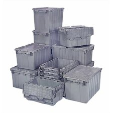 8.75 Gallon Heavy Duty Attached Top Storage Container