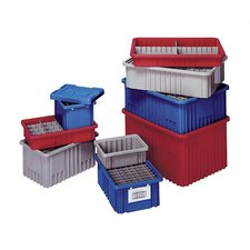 """Dividable Grid Storage Containers (3 1/2"""" H x 10 7/8"""" W x 16 1/2"""" D) (Set of 12)"""