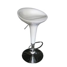 Luna Adjustable Height Swivel Bar Stool (Set of 2)