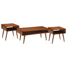 Dansk 3 Piece Coffee Table Set