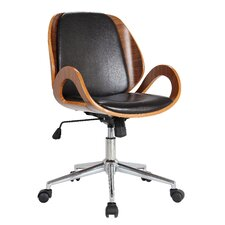 Rika Desk Adjustable Mid-Back Conference Chair