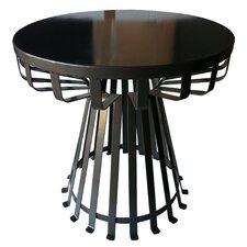 Metal Iron Base Flat Side Table