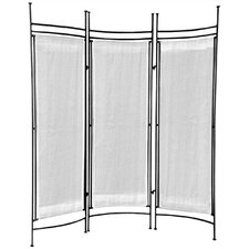 """57"""" x 58"""" Privacy Screen 3 Panel Room Divider"""