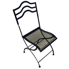 Bistro Folding Dining Side Chairs (Set of 2)