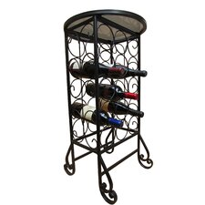 15 Bottle Free Standing Outdoor Wine Cage