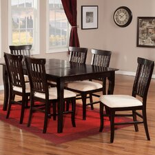 Venetian 7 Piece Dining Table Set