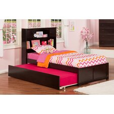 Urban Lifestyle Newport Bookcase Bed with Trundle