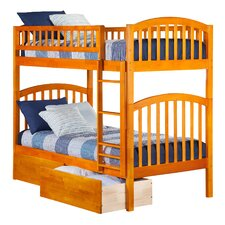 Richland Twin Bunk Bed with Storage