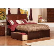 Urban Lifestyle Portland Panel Bed with Storage