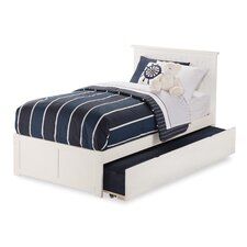 Nantucket Flat Panel Bed with Storage