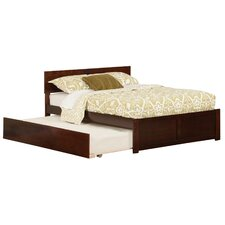 Urban Lifestyle Orlando Panel Bed with Twin Trundle
