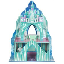 Pretend-Play Ice Mansion Doll House
