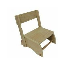 The Windsor 1-Step MDF Step Stool with 200 lb. Load Capacity