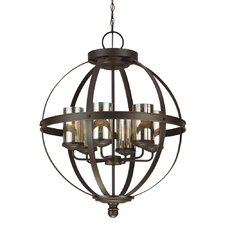 Sfera 6 Light Chandelier