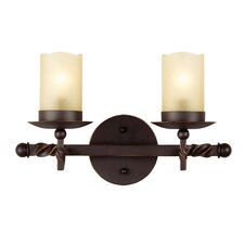 Trempealeau 2 Light Bath Vanity Light