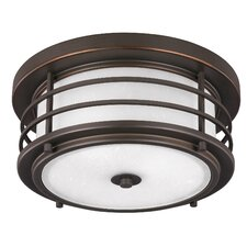Sauganash 2 Light Outdoor Ceiling Flush Mount