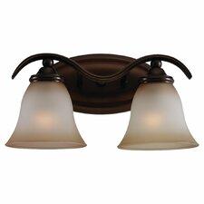 Rialto 2 Light Vanity Light