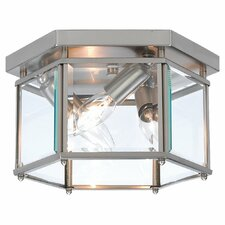 "Bretton 6"" 3 Light Flush Mount"