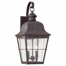 Colonial Styling 2 Light Wall Lantern