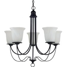 Plymouth 5 Light Chandelier