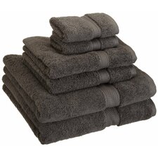 Superior Egyptian Cotton 6 Piece Towel Set