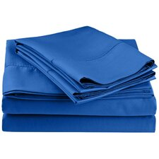 Hemstitch 600 Thread Count Sheet Set