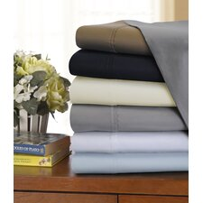 3 Piece 1200 Thread Count Solid Sheet Set