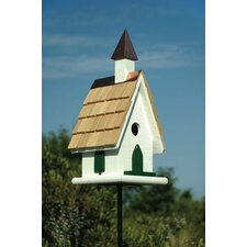 Country Church Birdhouse