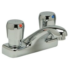 AquaSpec Double Handle Centerset Metering Faucet