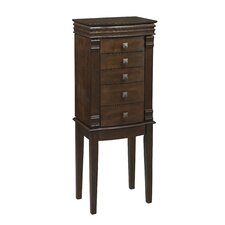 Angela Jewelry Armoire with Mirror
