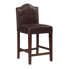 "Manor 24"" Bar Stool with Cushion"