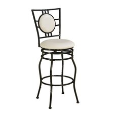 Townsend Adjustable Height Swivel Bar Stool with Cushion