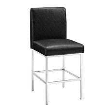 "Clarey 24"" Bar Stool with Cushion"