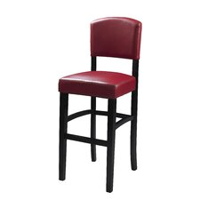 "Monaco 24"" Bar Stool with Cushion"