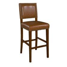 "Brook 30"" Bar Stool with Cushion"