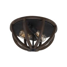Allier 2 Light Flush Mount