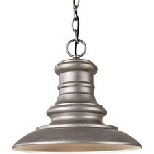 Redding Station 1 Light Outdoor Hanging Pendant