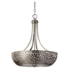 Zara 4 Light Drum Chandelier