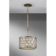 Lucia 1 Light Drum Pendant