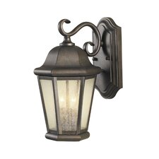 Martinsville 2 Light Wall Lantern