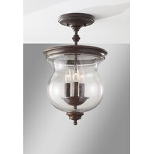 Pickering Lane 3 Light Semi Flush Mount