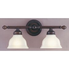 New London 2 Light Vanity Light