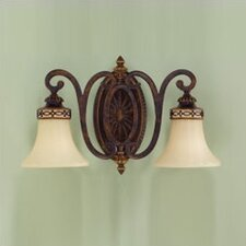 Edwardian 2 Light Vanity Light