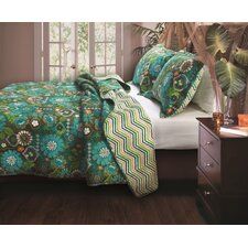 Tiki Hut Quilt Set