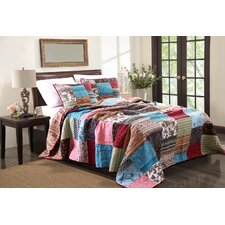 New Bohemian 3 Piece Bedspread Set