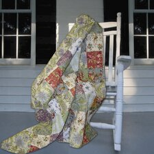Blooming Prairie Cotton Throw Blanket
