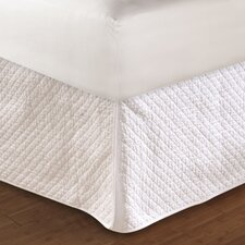 Diamond Quilted Bed Skirt