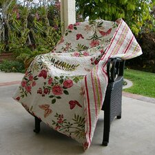 Butterfly Quilted Cotton Throw