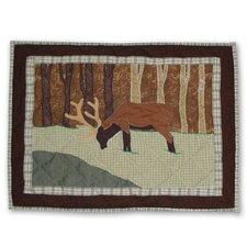 Brown Elk Pillow Sham